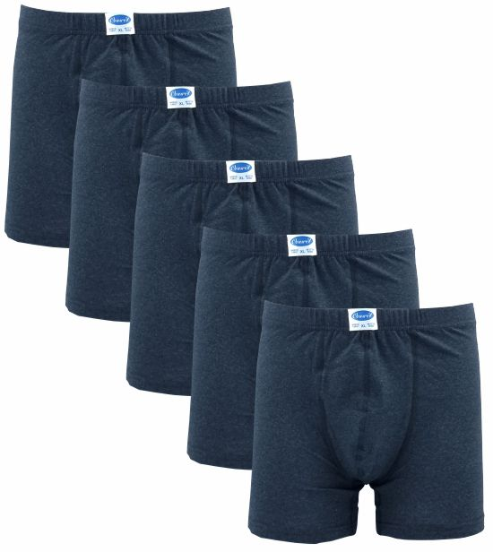 5 PACK BOXER Ανθρακί 134-2